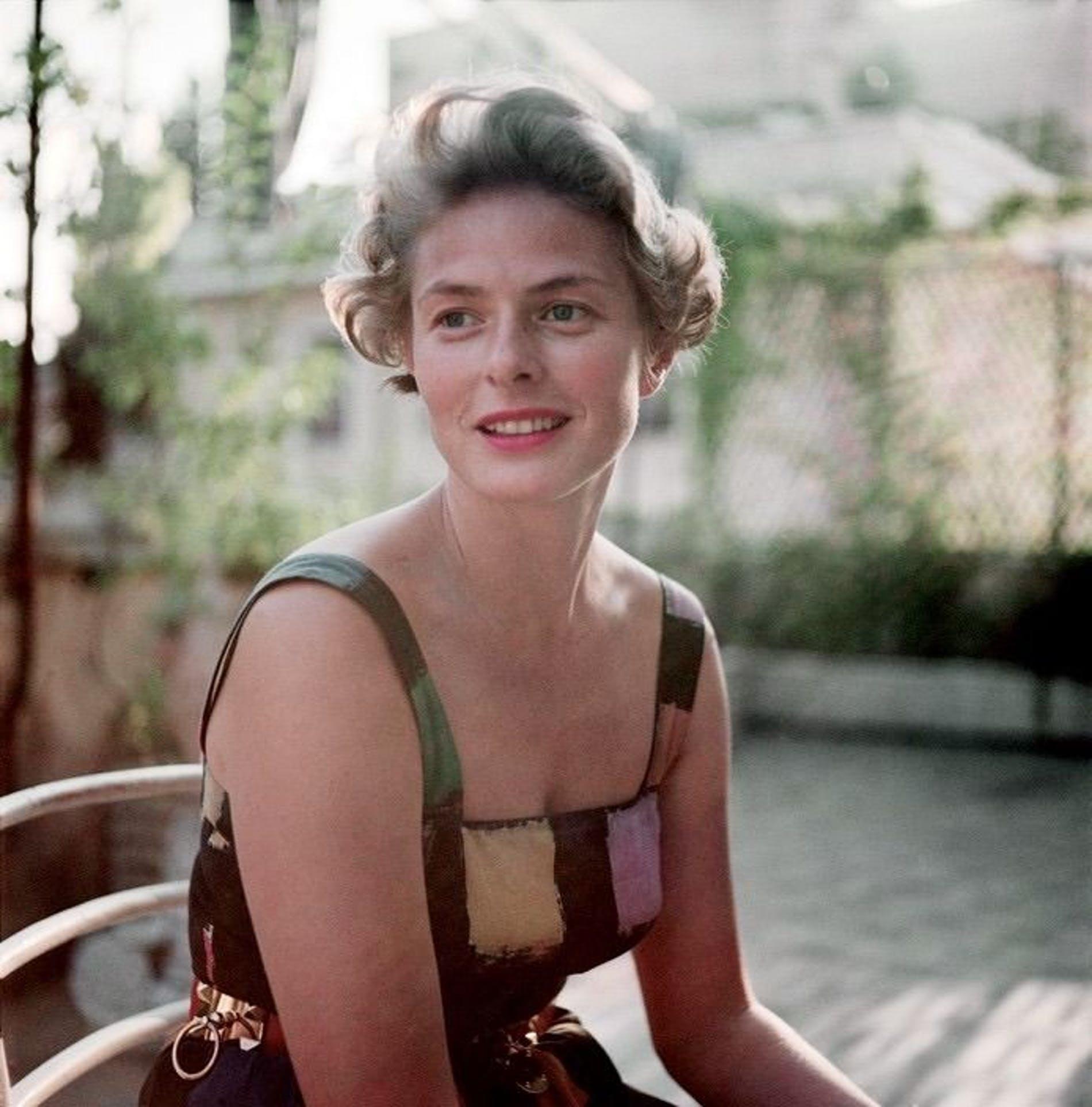 El mundo de las Rosas - Variedades de Rosas - Ingrid Bergman